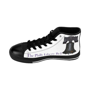 Liberty Bell Men's High-top Sneakers (order one size larger, runs small)
