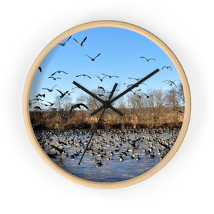 Flock of Geese Wall Clock