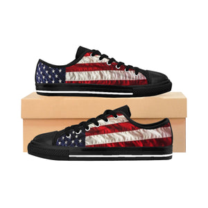 Men's American Flag Sneakers (order one size larger than needed)