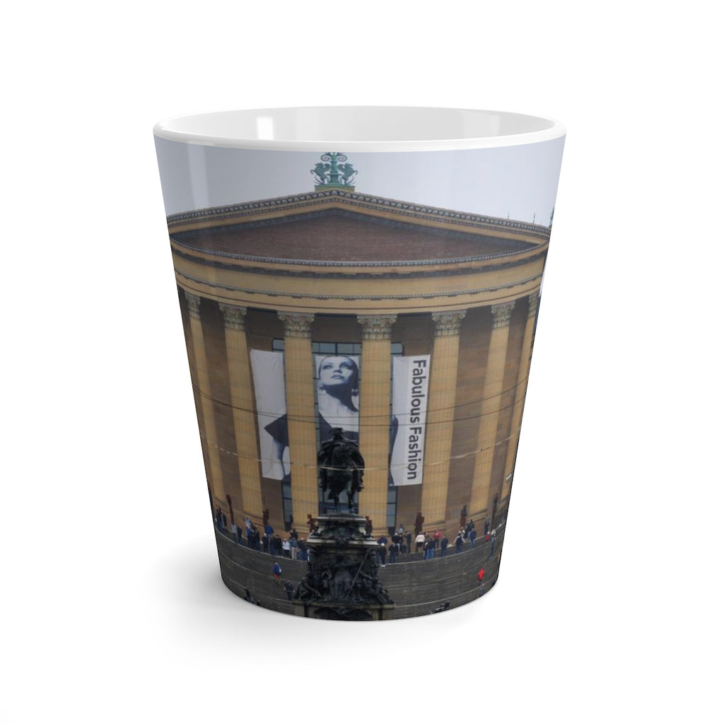 Philly Art Museum Latte mug
