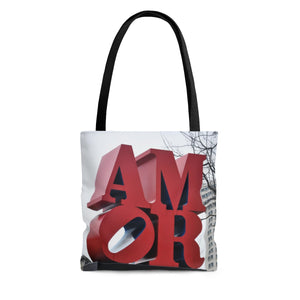 Philly AMOR AOP Tote Bag