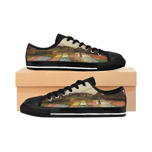 Van Gogh (Flower Beds in Holland) Women's Sneakers