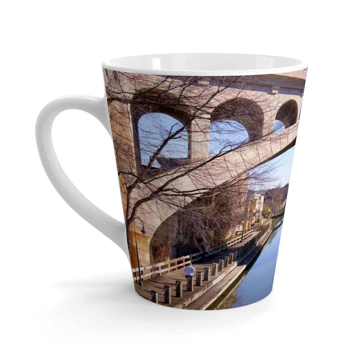 Manayunk Bridge Latte mug