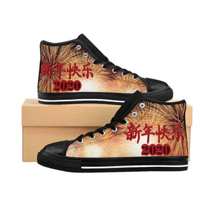 Chinese New Year 2020 Women's High-top Sneakers