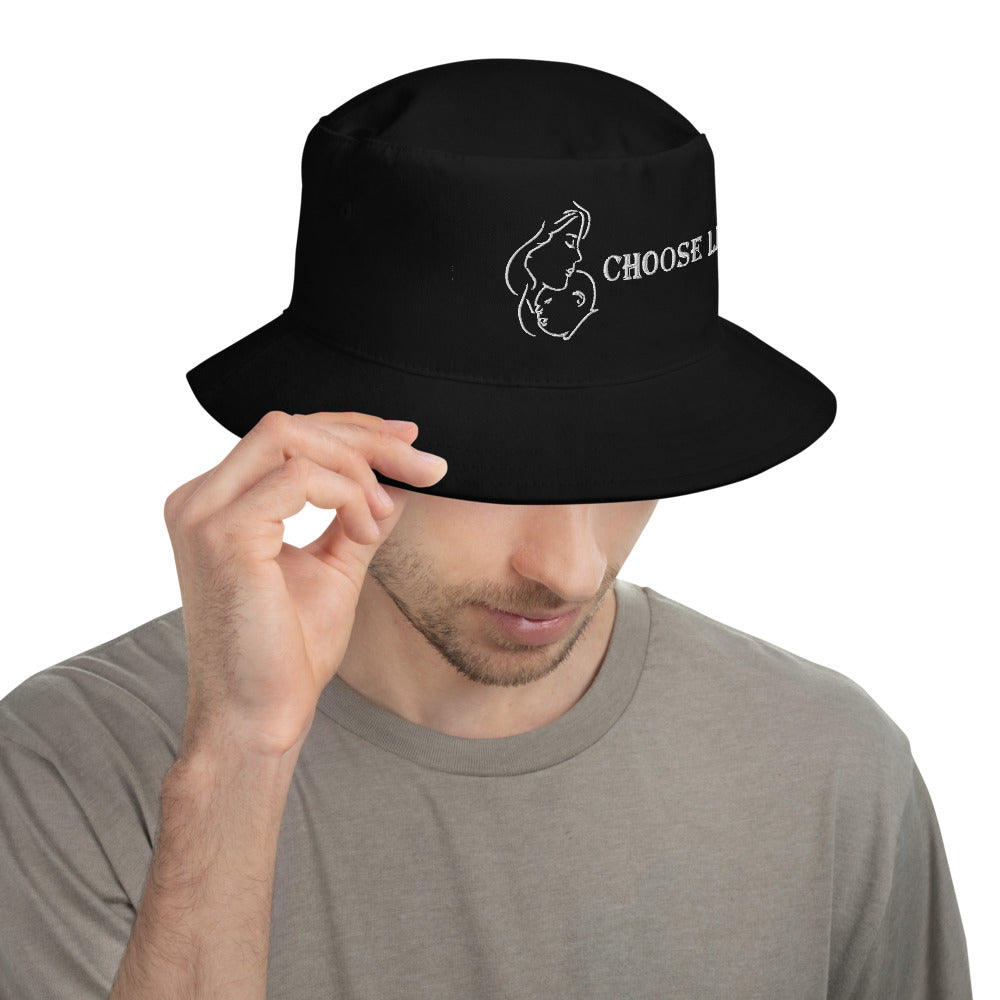 Choose Life Bucket Hat