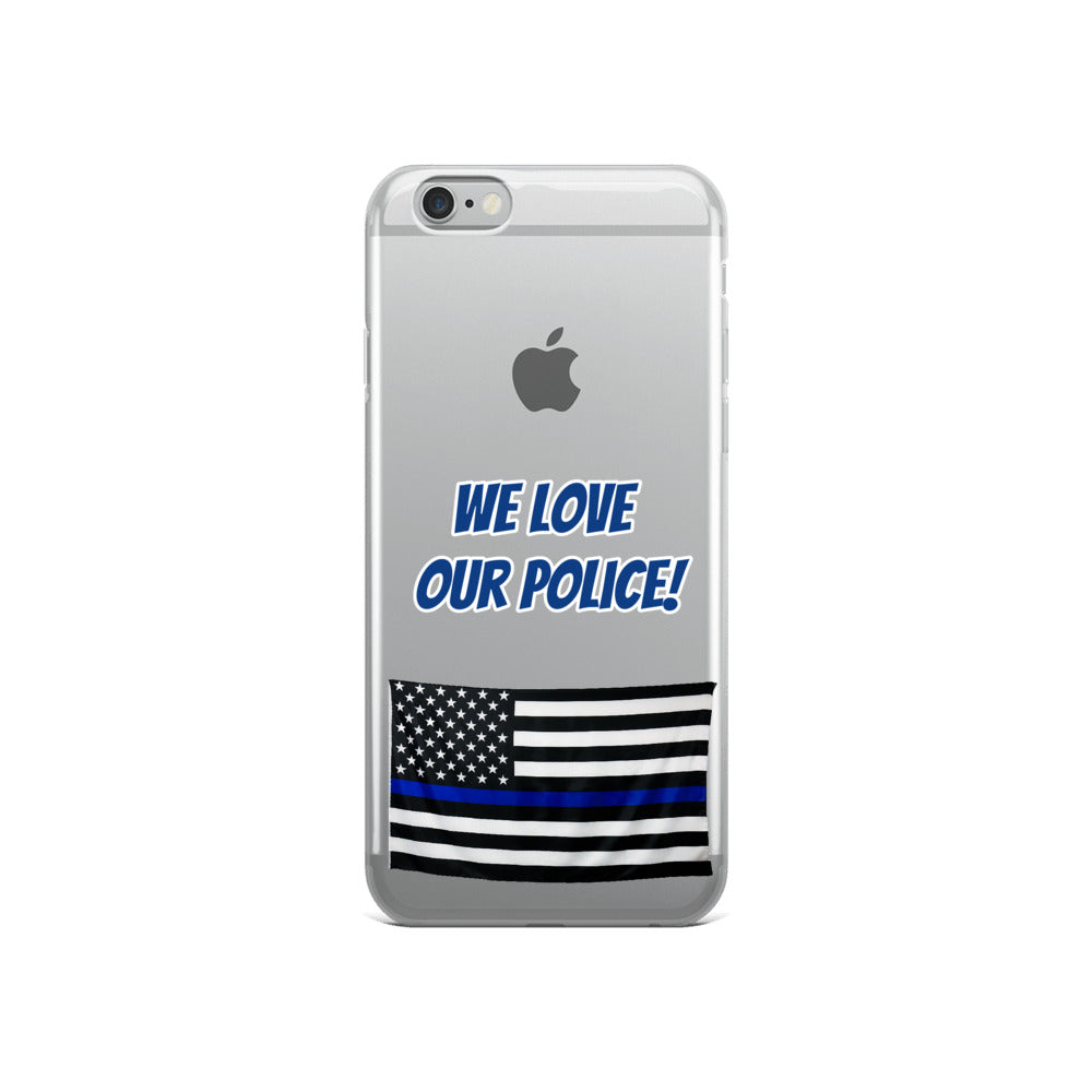 Police iPhone Case