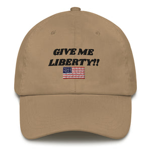 Give Me Liberty Dad hat