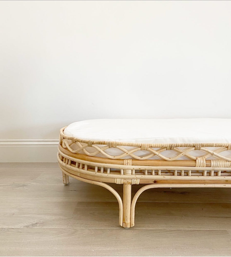 Nora Rattan Bed