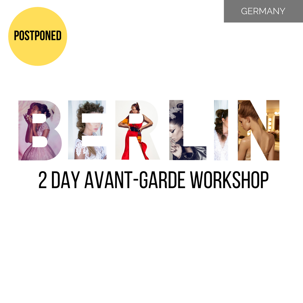 BERLIN 2 Day Avant-Garde Long Hair Masterclass 10-11 May 2020