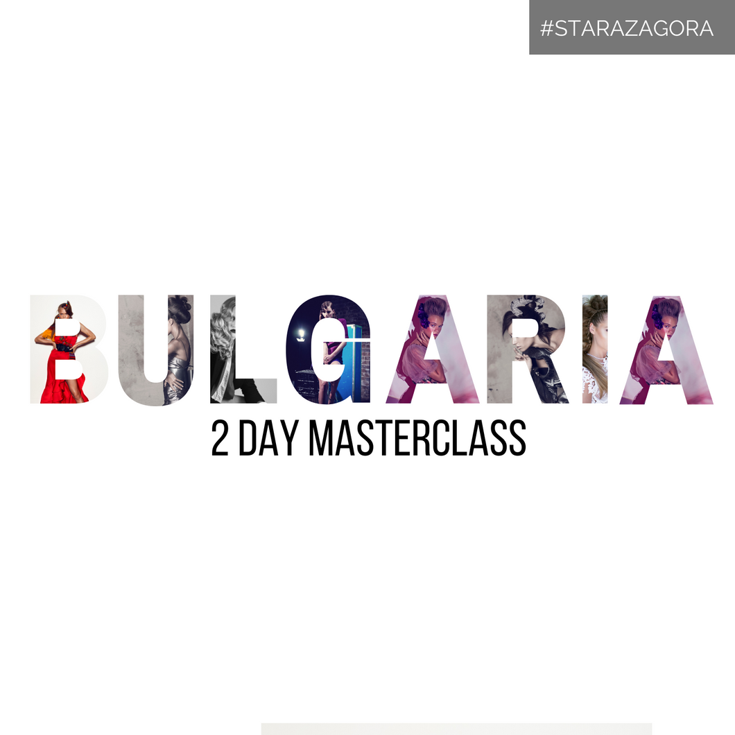 BULGARIA 2 Day Long Hair Masterclass Wednesday 28-Thursday 29 October 2020