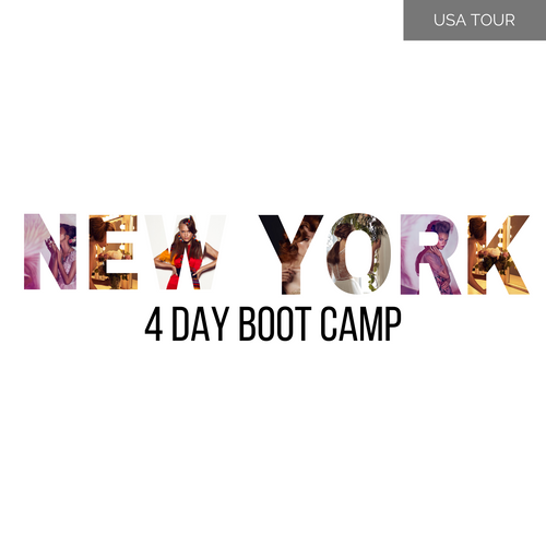 NEW YORK 4 Day Long Hair Boot Camp 8-11 March 2020