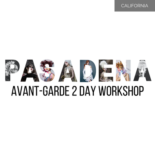 PASADENA 2 Day Avant-Garde Long Hair Masterclass 1-2 March 2020