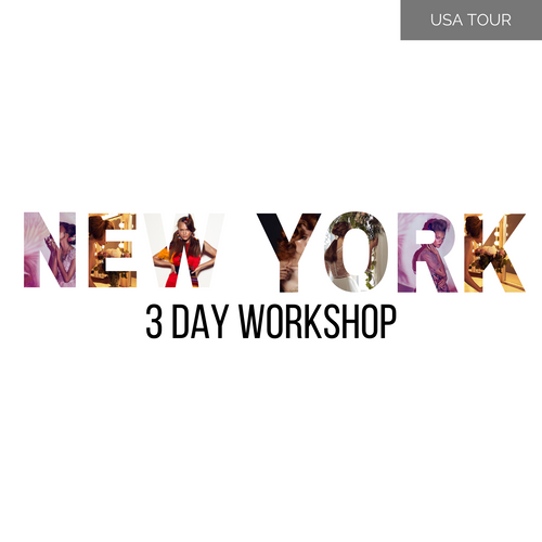 NEW YORK 3 Day Masterclass 19-21 July 2020