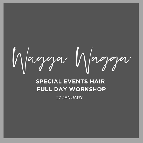 Wagga Wagga Full Day Long Hair Workshop Wednesday 27 January 2021