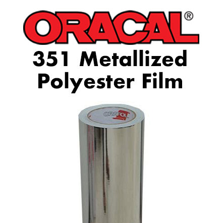 Oracal 351 Metallized Polyester (Gold | Rose gold | Chrome)