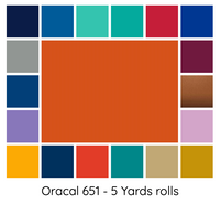 ORACAL 651 (5 Yards)