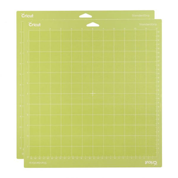 "Cricut StandardGrip Mat, 12"" x 12"" (Pack of 2)"