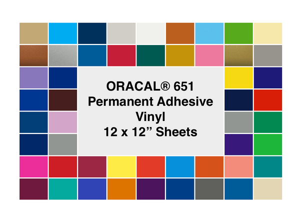 "ORACAL® 651  (12"" Sheets)"