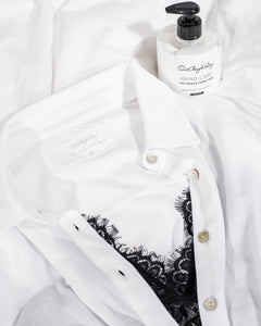 some kind of Men's Shirt, bright white