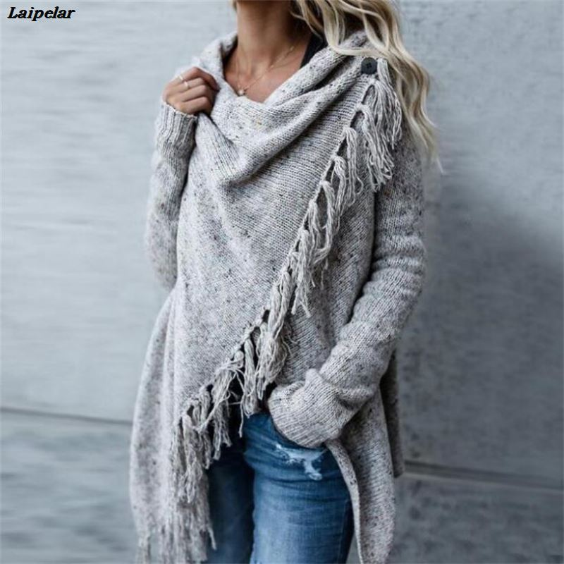 Long Tasseled Sweater