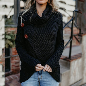 Causal Button Sweater