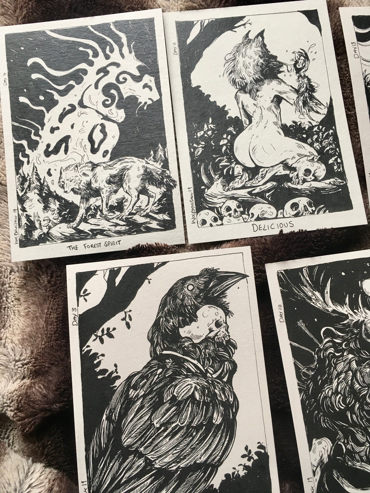 Mini Prints Inktober Pack