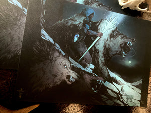 MTG Jorn the Winter God PRINT