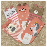 Adorable Animal Ankle Socks - Adult