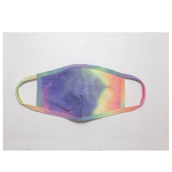 Keeping it in Style! Tie Dye Purple Highlight Face Mask