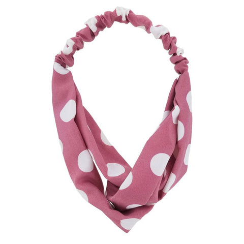 Adorable Polkadot Stretch Headbands