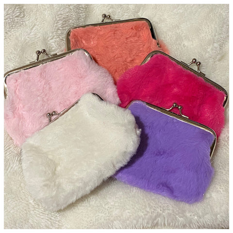 Adorable Fluffy Fur Coin Purse