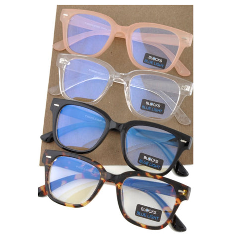 Fashionably Cute Blue Light Blocking Glasses