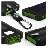20000mah Solar Power Bank with LED Light