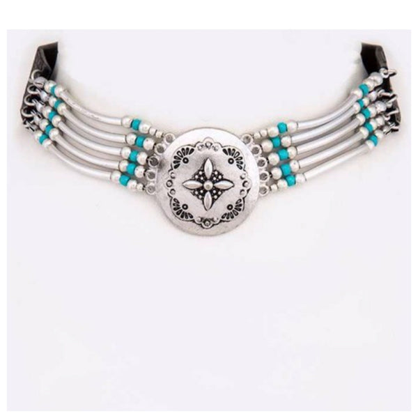 Western Concho Iconic Necklace