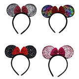 Minnie Mouse Sequin Headbands-4 Colors