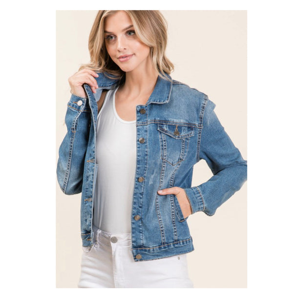 Always a Must! Classic Blue Denim Jacket