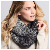 Ombre' Style Knit Blend Infinity Scarves - Cheryl's Galore and More - 2