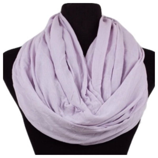 Soft and Smooth Violet Infinity Scarf, Purple, Loop, Women's Accessories - Cheryl's Galore and More