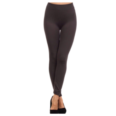 """A Touch of Heaven"" No Peek-a-Boo See Through Charcoal Leggings - Cheryl's Galore and More - 1"