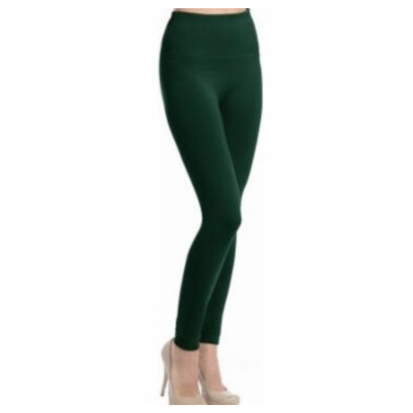 "Copy of ""A Touch of Heaven""  No Peek-a-Boo See Through Hunter Green Leggings"