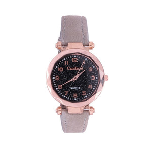 Luxury Women's Watches Fashion Starry Sky Ladies Women Watches Casual Leather Quartz Wrist Watch relogio feminino zegarek damski