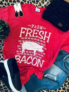 Farm Fresh Bacon Tee