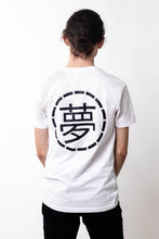 Load image into Gallery viewer, Mens White Small Print Tee - Ukiyo LDN