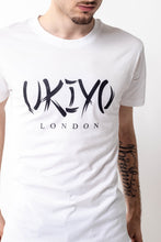 Load image into Gallery viewer, Mens White Large Print Tee - Ukiyo LDN