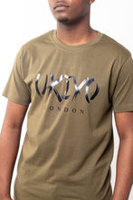 Load image into Gallery viewer, Mens Khaki Large Print Tee - Ukiyo LDN