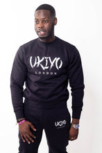 Load image into Gallery viewer, Mens Black Tracksuit - Ukiyo LDN