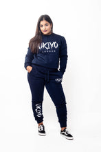 Load image into Gallery viewer, Womens Navy Tracksuit - Ukiyo LDN