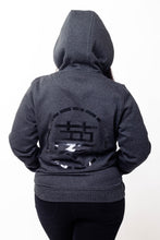 Load image into Gallery viewer, Womens Grey Hoodie - Ukiyo LDN