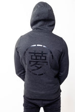 Load image into Gallery viewer, Mens Grey Hoodie - Ukiyo LDN
