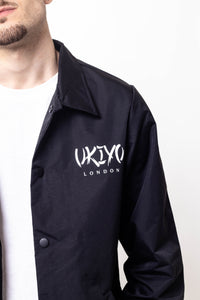 Mens Black Jacket - Ukiyo LDN